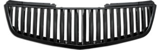 72R-CADTS06-GVB-BK ABS Black Vertical Style Replacement Grille