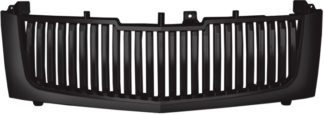 72R-CAESC02-GVB-BK ABS Glossy Black Vertical Bar Style Replacement Grille