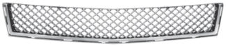 72R-CASRX10B-GME ABS Chrome Mesh Style Replacement Bumper Grille
