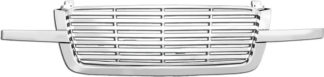 72R-CHAVA02-PBL ABS Chrome Replacement Grille 3Pc - Billet Style