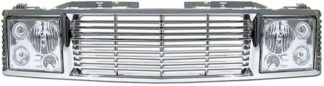 72R-CHC1094-ORR-CC / 94-99-Tahoe/Suburban/Yukon Range Rover Style Conversion Kit - Chrome Grille w/ Chrome Head Lamp