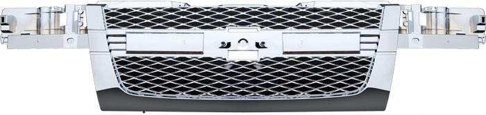 72R-CHCOL04-POE ABS Chrome Factory Style Replacement Grille