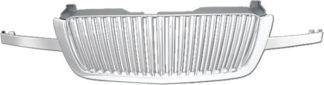 72R-CHSIL03-GVB ABS Chrome Vertical Bar Style Replacement Grille
