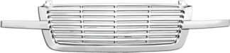 72R-CHSIL03-OBL ABS Chrome Horizontal Style Replacement Grille