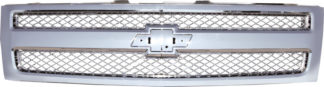 72R-CHSIL07-COE ABS All Chrome Factory Style Replacement Grille