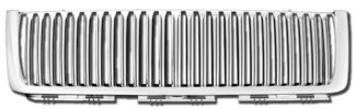 72R-CHSIL07-GVB ABS Chrome Vertical Bar Style Replacement Grille