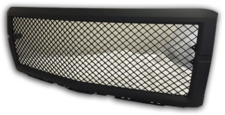 72R-CHSIL14-GME-BK ABS Black Mesh Style Replacement Grille