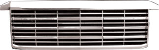 72R-CHSIL15HD-GEP Chrome ABS Performance Replacement Grille Escalade Platinum Style