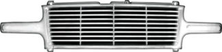 72R-CHSIL99-ZBL ABS Chrome Horizontal Billet Style Replacement Grille