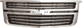 72R-CHTAH15-LTZ-GOE ABS Chrome Factory LTZ Style Replacement Grille