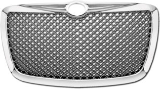 72R-CR30005-GME ABS Chrome Mesh Style Replacement Grille