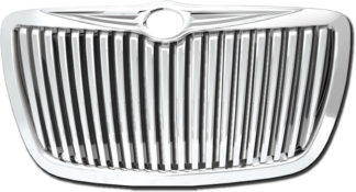 72R-CR30005-GVB ABS Chrome Vertical Style Replacement Grille