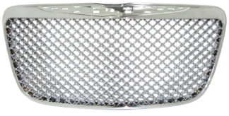 72R-CR30011-GME ABS Chrome Bentley Mesh Style Replacement Grille