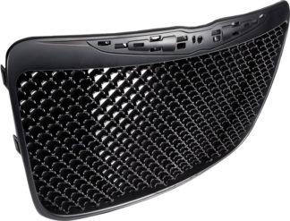72R-CR30011-GME-BK ABS Black Mesh Style Replacement Grille