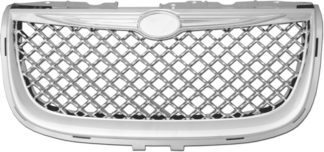 72R-CR300M99-GME ABS Chrome Bentley Mesh Style Replacement Grille