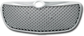 72R-CRSEB04-GME ABS Chrome Bentley Mesh Style Replacement Grille
