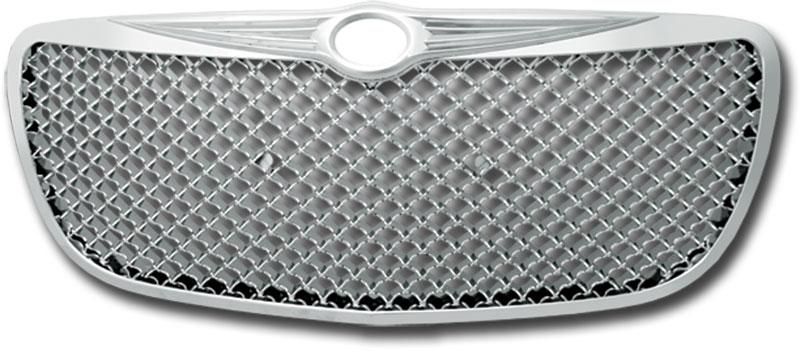 2007-2010 Chrysler Sebring Front Hood Grille Chrome Molding Trim Emblem