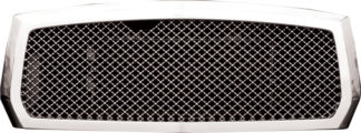 72R-DODAK05-GME ABS Chrome Mesh Style Replacement Grille