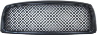 72R-DORAM02-ZME-CF ABS Carbon Fiber Mesh Style Replacement Grille (Excludes 2002 Ram 2500/3500)