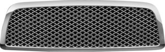 72R-DORAM09-GME ABS Chrome Mesh Style Replacement Grille (Excludes 2500/3500 Model)