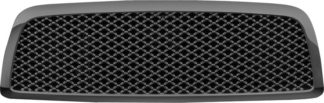 72R-DORAM09-GME-BK ABS Glossy Black Mesh Style Replacement Grille (Excludes 2500/3500 Model)