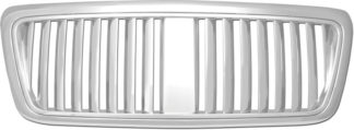 72R-FOF1504-PVB ABS Chrome Lincoln Mark LT Vertical Style Replacement Grille