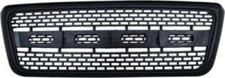 72R-FOF1504-ZR-BK ABS Black Inspired 09 F150 Raptor Style Replacement Grille