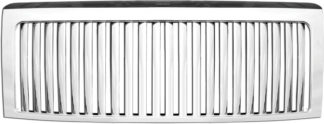 72R-FOF1509-GVB ABS Chrome Thin Vertical Bar Replacement Grille
