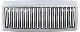72R-FOF2508-GVB ABS Chrome Vertical Bar Style Replacement Grille