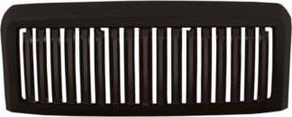 72R-FOF2508-GVB-BK ABS Glossy Black Vertical Bar Style Replacement Grille