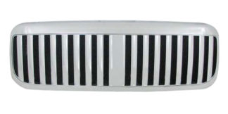72R-FOF2599-PVB ABS Chrome Lincoln LT Vertical Bar Style Replacement Grille