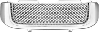 72R-GMENV02-GME ABS Chrome Mesh Style Replacement Grille
