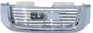 72R-GMENV02-POE ABS All Chrome Factory Style Replacement Grille