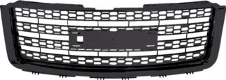 72R-GMSIE07-GHD-BK ABS Matte Black 11-13 HD Denali Style Replacement Main Grille