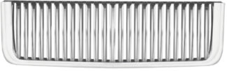 72R-GMSIE07-GVB ABS Chrome Vertical Bar Style Replacement Grille