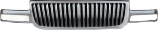72R-GMSIE99-GVB ABS Chrome Vertical Bar Style Replacement Grille