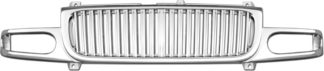72R-GMYDE00-GVB ABS Chrome Vertical Bar Style Replacement Grille