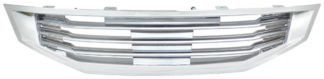 72R-HOACC082-GBL ABS Chrome Billet Style Replacement Grille