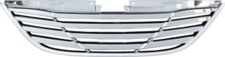 72R-HYSON11-GOE ABS Chrome Factory Style Replacement Grille (No Base for Emblem)