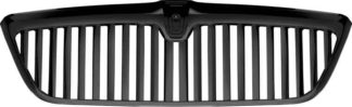 72R-LINAV98-GVB-BK ABS Glossy Black Vertical Style Replacement Grille (22 Bar)