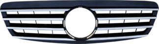 72R-MBSW22000-BC ABS Replacement Grille - Black/Chrome (Use OEM Emblem 638 888 00 86 - included)