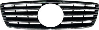 72R-MBSW22003-BC ABS Replacement Grille - Black/Chrome (Use OEM Emblem 638 888 00 86 - included)