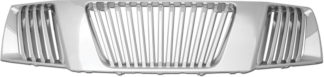 72R-NIFRO05-GVB ABS Chrome Vertical Bar Style Replacement Grille