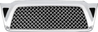 72R-TOTAC05-GME ABS Chrome Mesh Style Replacement Grille