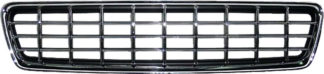 72R-VOS4000CK-BK ABS Chrome Frame Matte Black Checker Style Replacement Grille
