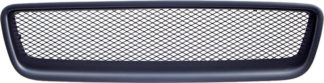 72R-VOS6001RAM-BK ABS Matte Black R-Type Frame Aluminum Mesh Style Replacement Grille