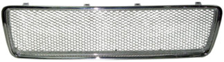 72R-VOS8099AM-CM ABS Chrome frame Aluminum Mesh Style Replacement Grille