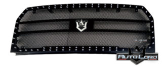 72RMB-FOF1515-CR2D Performance Rep. Grille W/Black Woven Mesh