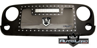 72RMB-JEWRA07-CR1L Performance Rep. Grille W/Black Woven Mesh