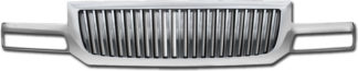 72R-GMSIE03-GVB ABS Chrome Vertical Bar Style Replacement Grille
